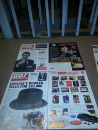 JBIFC newsletter & 007 Collectibles catalogue