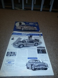Original advert for the Danbury Mint DB5