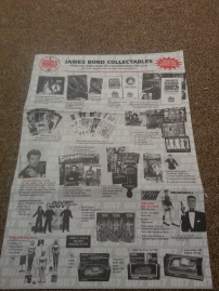 Front of old fan club catalogue