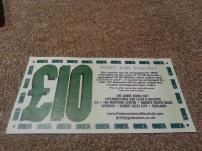 Old James Bond Fan Club voucher (now expired)